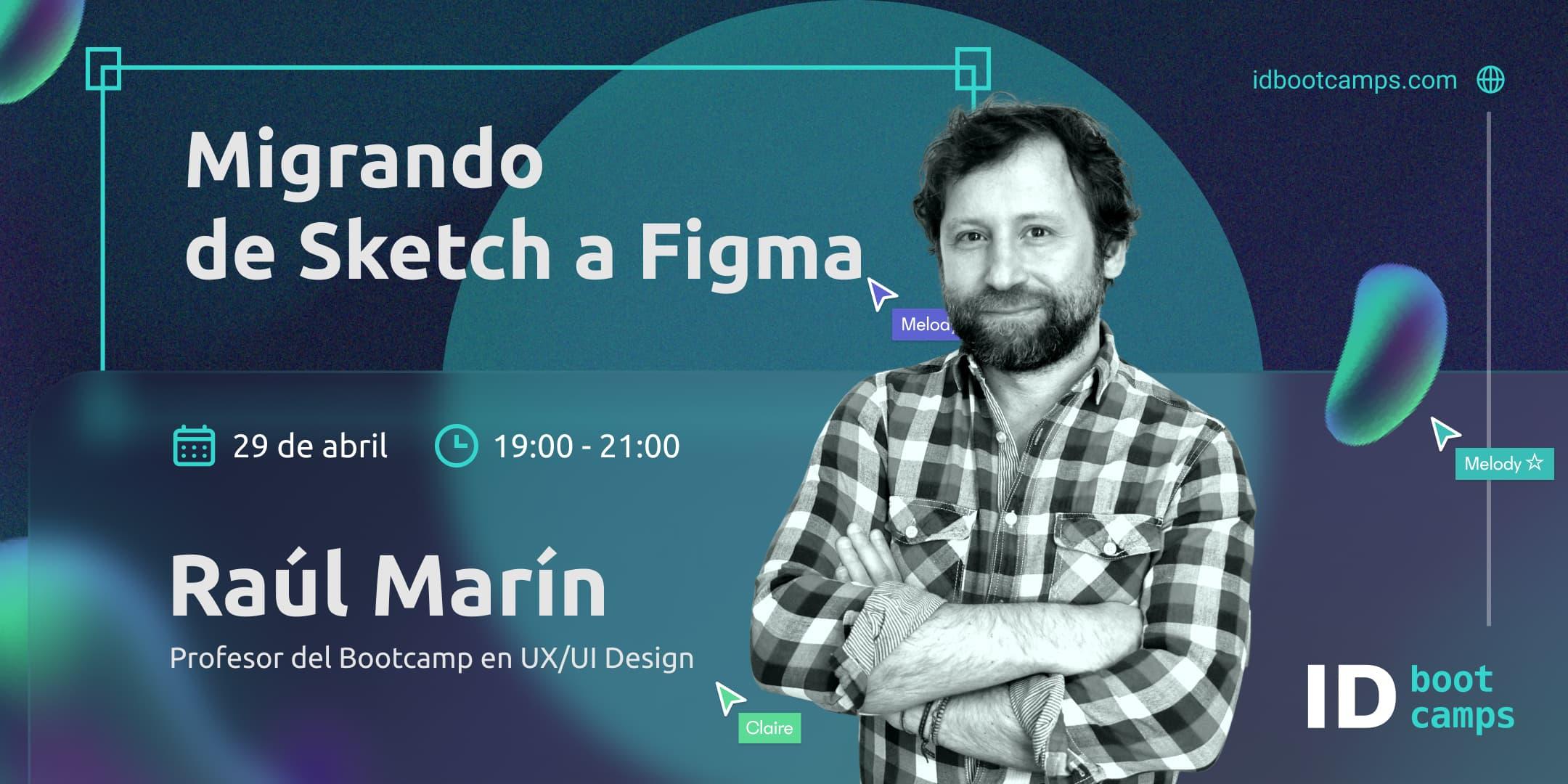 ID Bootcamps -Evento online Raúl Marín