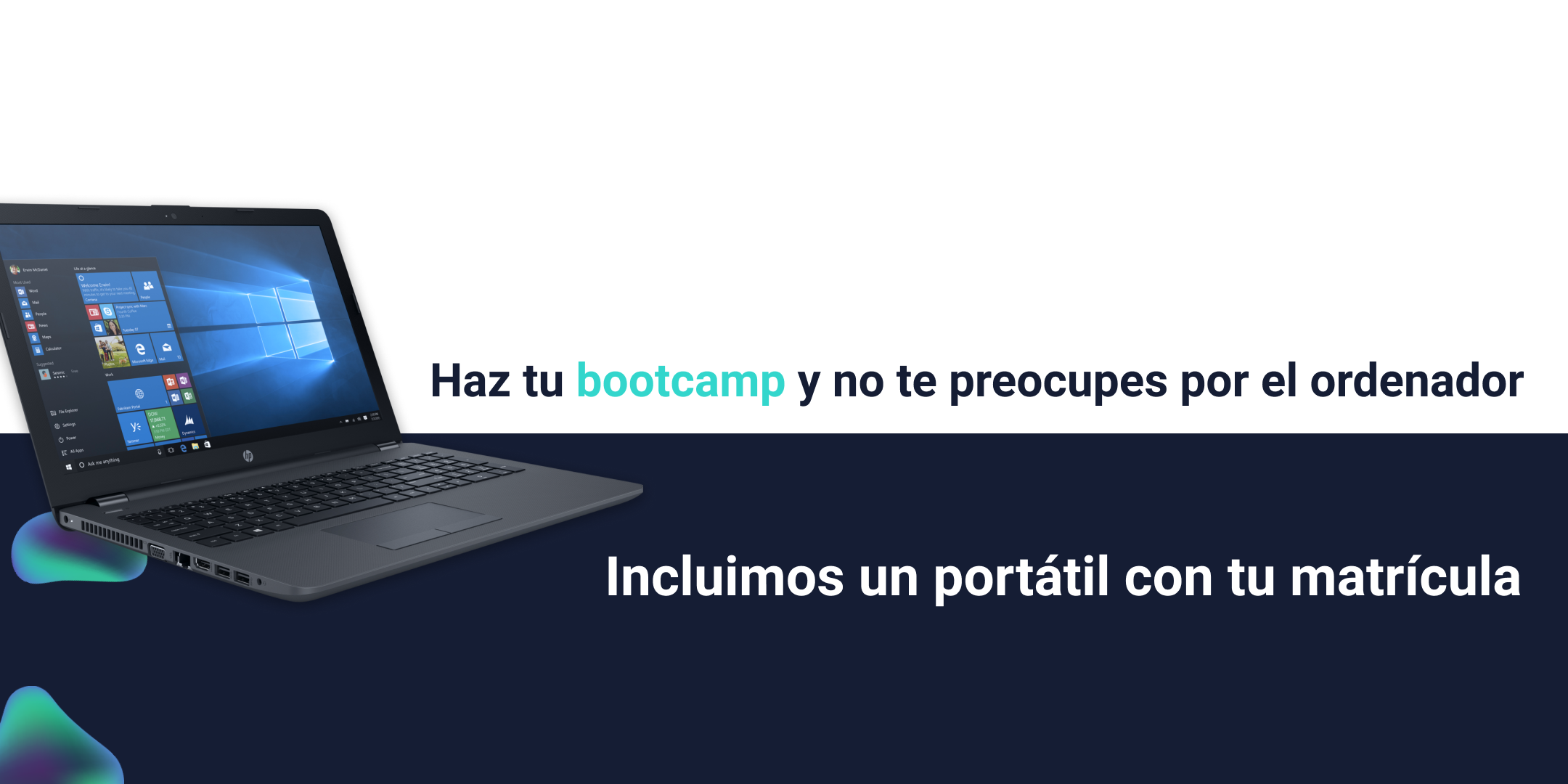 Incluimos un portátil con tu matrícula - ID Bootcamps