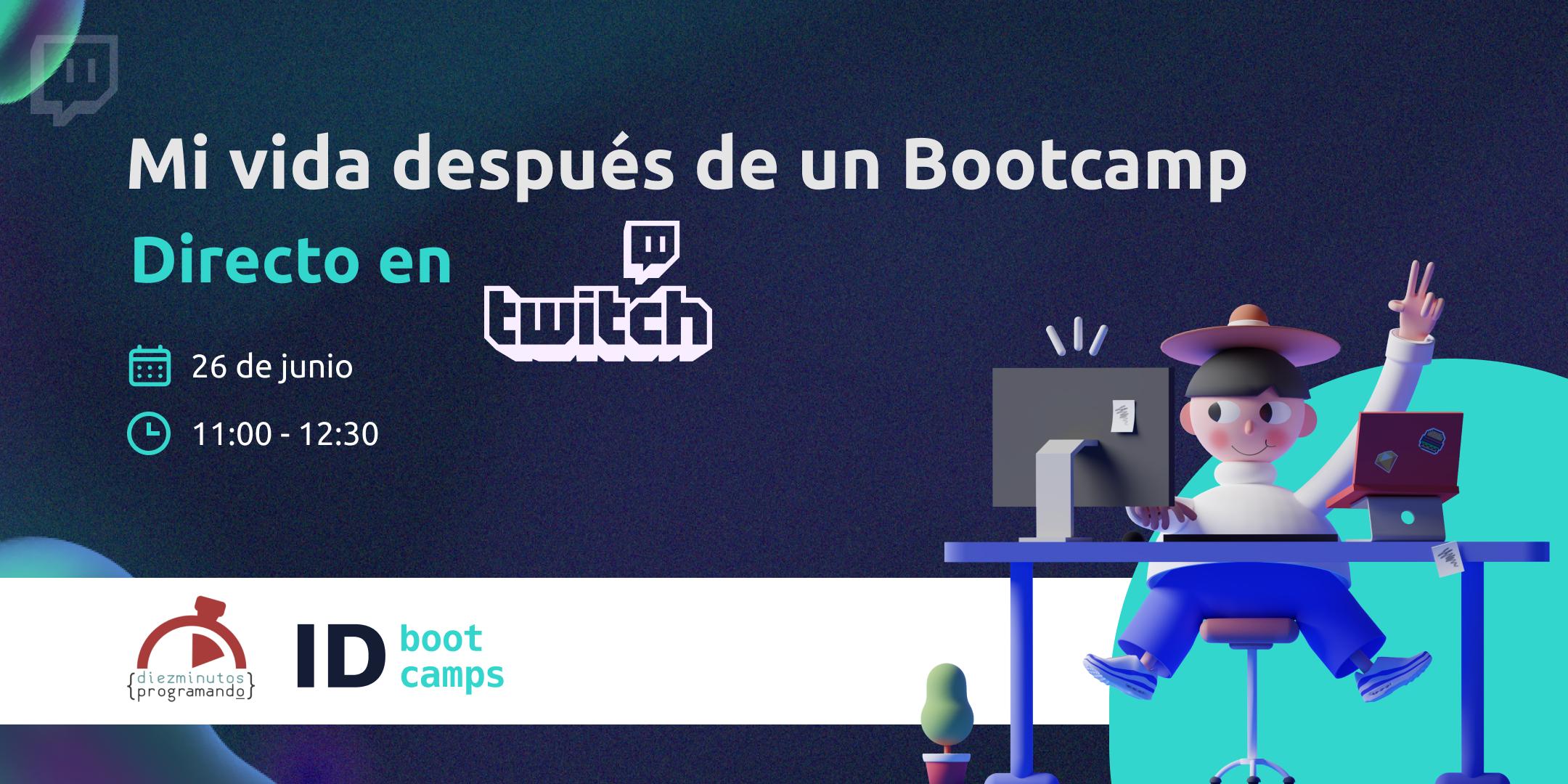 Evento online - Mi vida después de un bootcamp - Desarrollo Full Stack - ID Btoocamps