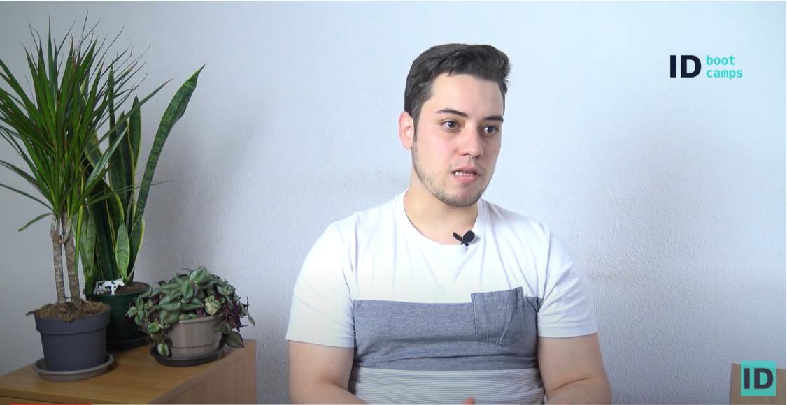 Testimonio Manuel Castillo. Alumno del Bootcamp en programación y desarrollo web Full Stack