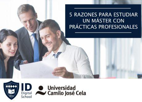 5 razones estudiar master con practicas