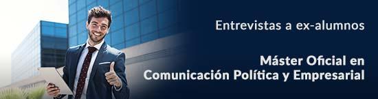 entrevistas exalumnos Master Comunicación Política