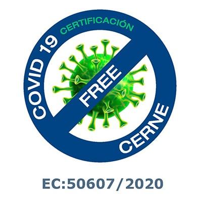 cerne certificado covid 19 free
