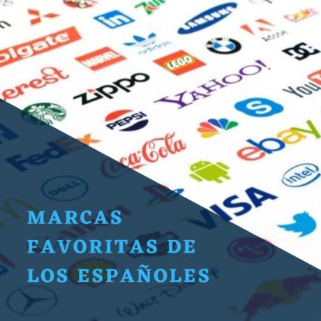 Marcas favoritas de los españoles en 2021